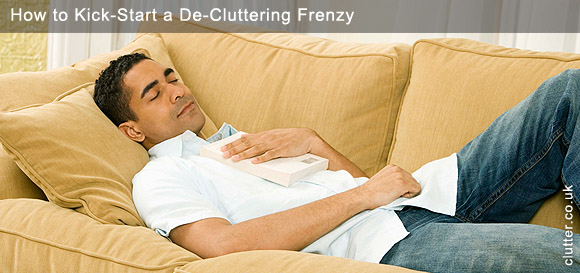 How to Kick-Start a De-Cluttering Frenzy