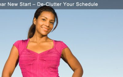 New Year New Start – De-Clutter Your Schedule