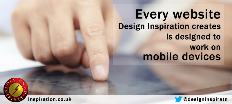 Responsive websites are the norm at Design Inspiration